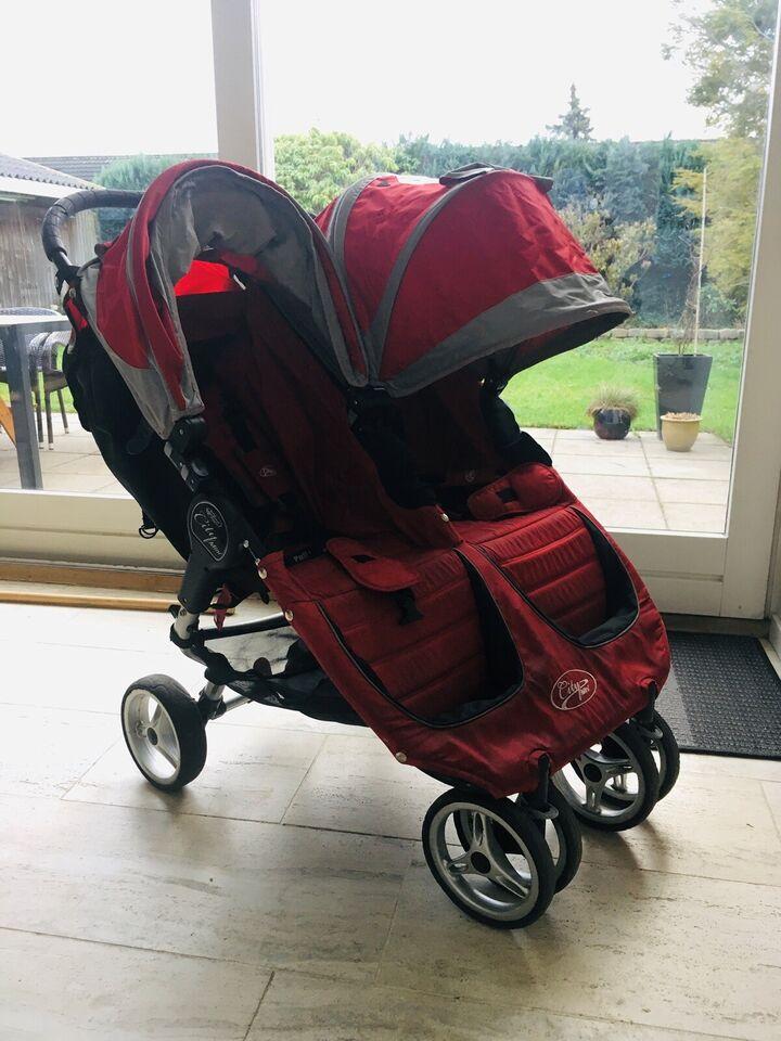 Klapvogn, Baby Jogger City Mini Elite Double,