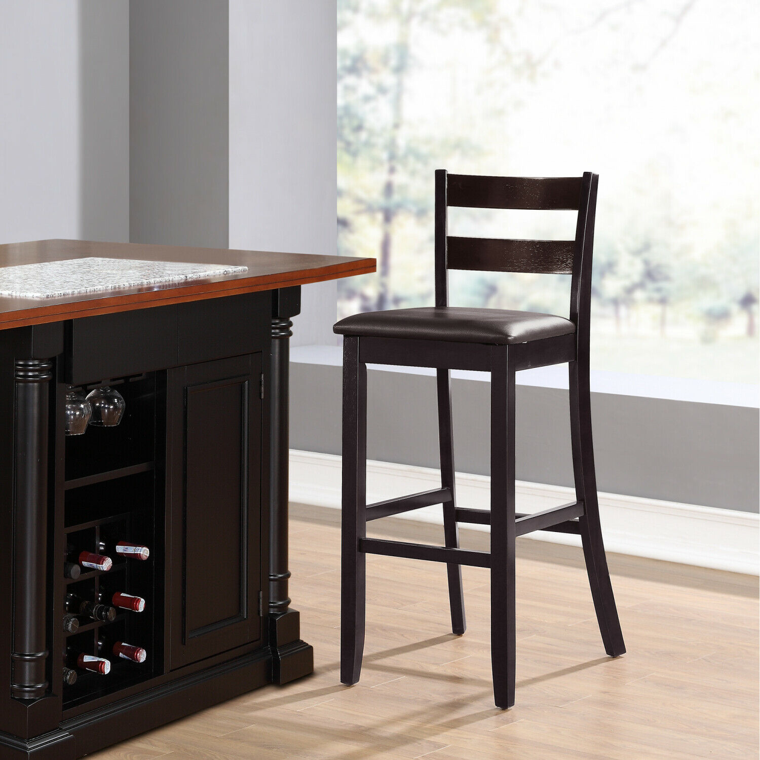 Picture of: Powell Bailey Stamped Back Bar Stool 30 Seat Height For Sale Online Ebay