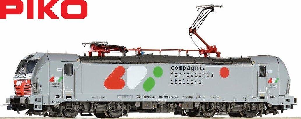 Piko H0 97760 Locomotora Eléctrica Vectron 191.012 Cfi - Nuevo + Emb.orig