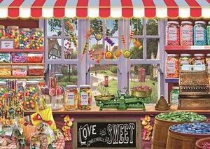 100% De Qualité Nouveau! Falcon De Luxe Sidneys Sweet Shoppe Par Steve Crisp 1000 Piece Jigsaw 11180-afficher Le Titre D'origine