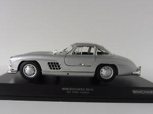 Mercedes-Benz-300-Sl-1955-Plata-1-18-Minichamps-110037210-Pma-W198-Mercedes