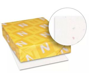 Neenah-Paper-Astrobrights-Colored-Card-Stock-8-1-2-x11-Stardust-White-15-Sheets