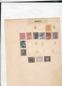 brasil stamps page ref 17412