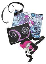 Disney The Little Mermaid Ariel Ursula 3 Piece Makeup Cosmetic Bag Set Gift NWT!