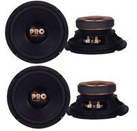 4) Pyramid W64 6.5 800 Watt Car Audio Midrange/mid Bass Poly Woofers Speakers on sale