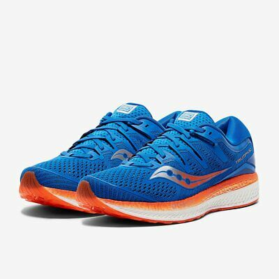 SAUCONY TRIUMPH ISO 5 MENS NEUTRAL RUNNING GYM FITNESS TRAINERS SHOES 7 8 9 14