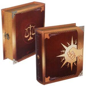 Details About Legion Grimoire Deck Box Spellbook Wooden Fabric Lined Magic Tcg Mtg Yugioh