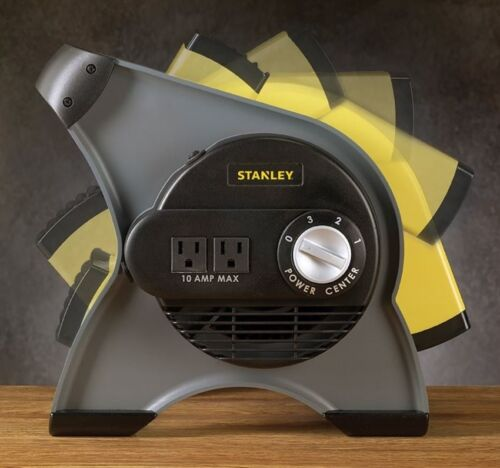 Air Mover High Velocity Fan Blower 3 Speed Job Site 350 CFM Floor Carpet Dryer