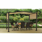 Better Homes and Gardens BH15-092-099-04 12ft. x 10ft. Steel Pergola - Tan