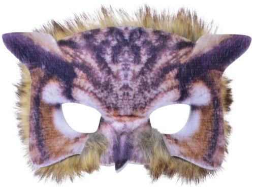 Authentische Eulen Maske NEU Karneval Fasching Maske Gesicht