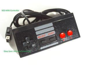 New-Black-6ft-Mini-Classic-Nintendo-Nes-System-Console-Controller-Control-Pad