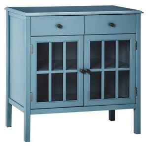 Threshold Windham Accent Cabinet With Drawer Ebay