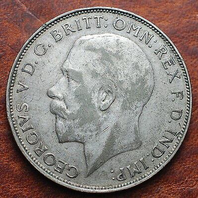 1923 United Kingdom One Florin High Quality Materials
