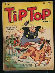 TIP-TOP-COMICS-No-85-1943-Comic-Book-CAPTAIN-amp-the-KIDS-Fritzi-Ritz-1-5-FR-GD