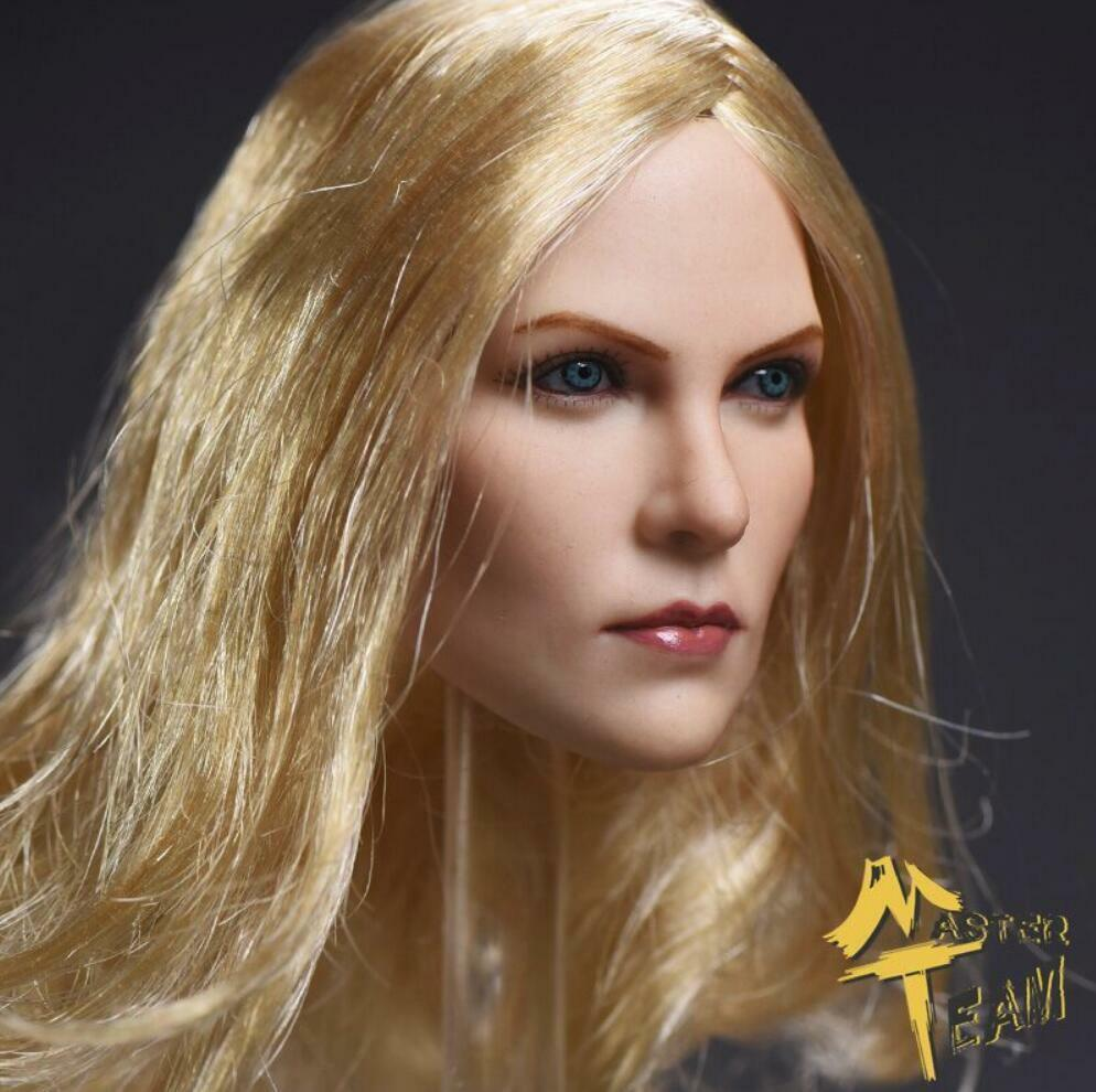 1 6 Female Head Sculpt Blonde Blonde Blonde Hair For 12  Phicen TBLeague Female Figure ❶USA❶ 4f68c7