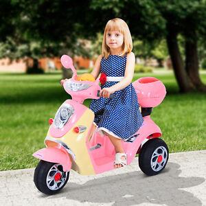 Coche-Triciclo-Moto-Electrica-Infantil-Correpasillos-a-Bateria-Ninos-3-8-anos-6V