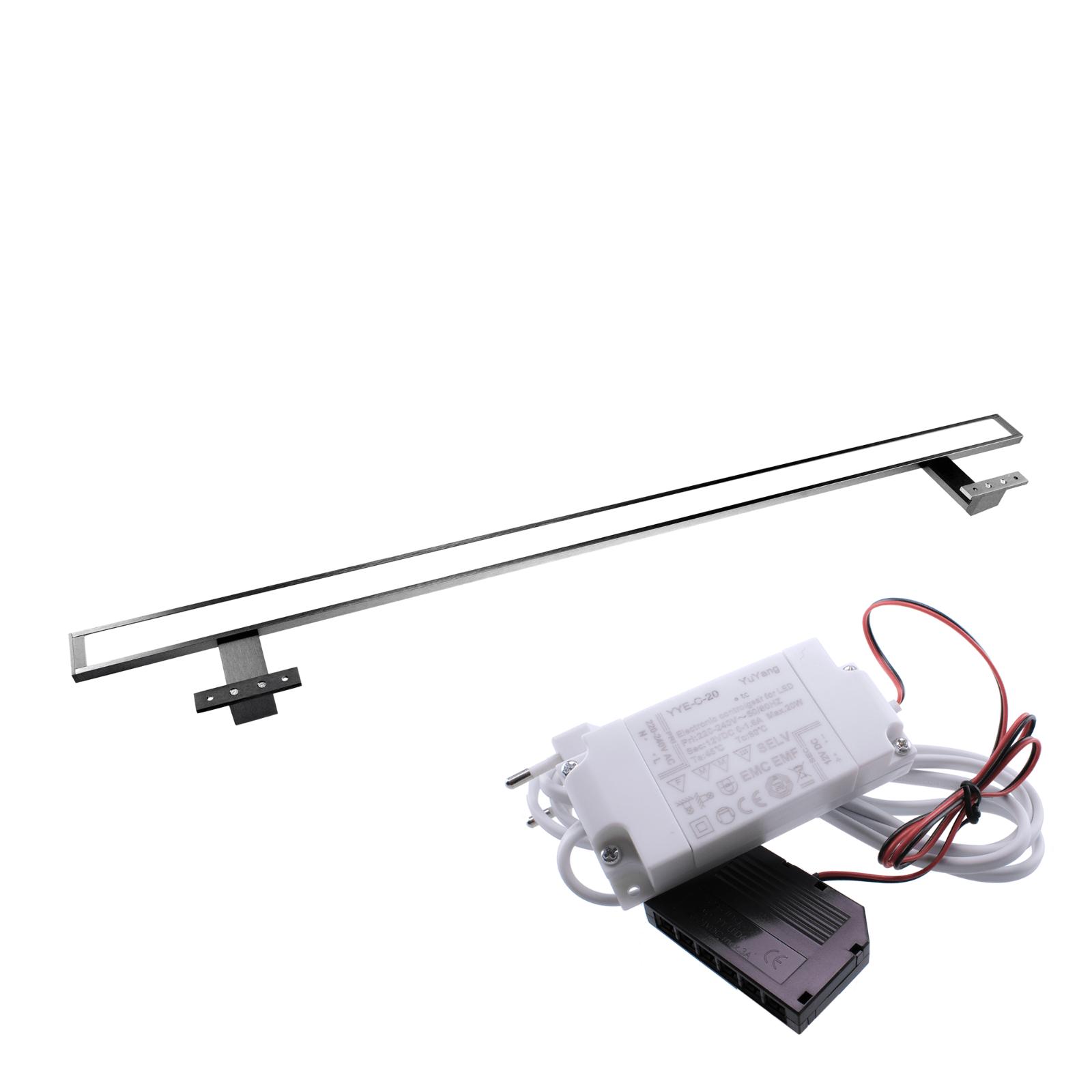 Degas A900 LED Aufbauleuchte 900mm 6500K Kaltweiß Spiegelleuchte Schranklampe