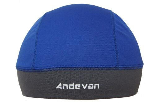 2 pcs Andevan™ Helmet liner lined w// TopCool Fabric Skull Cap Style for Biking