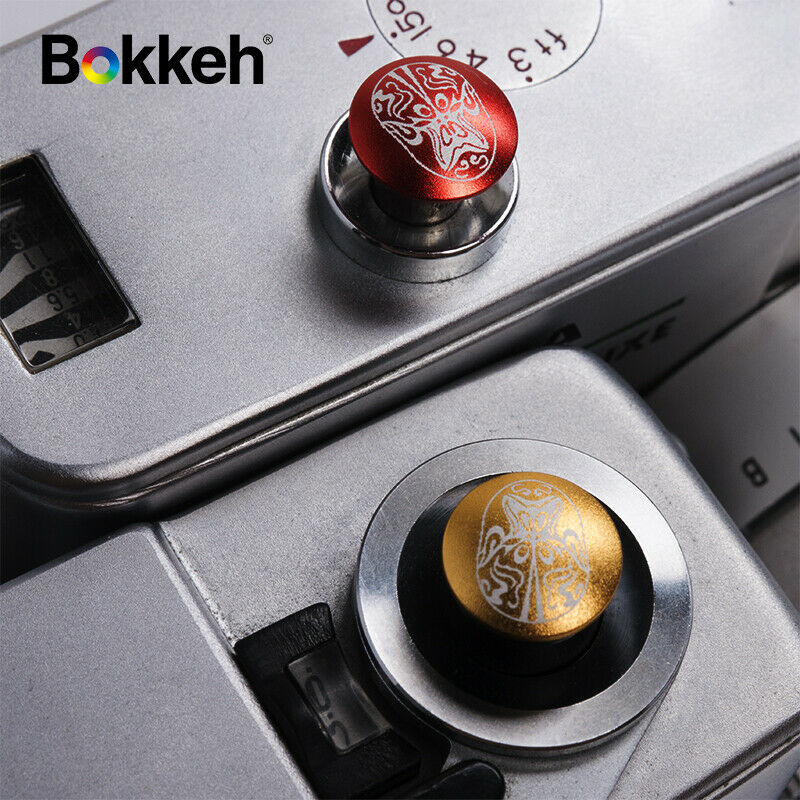 [Facial Paint set ] Bokkeh Small Shutter Soft Release Button Metal Leica M8 Fuji