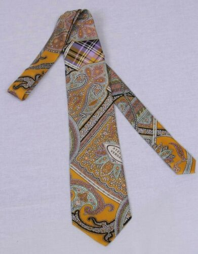 GIANNI VERSACE 90s vintage gold and multicolor wil