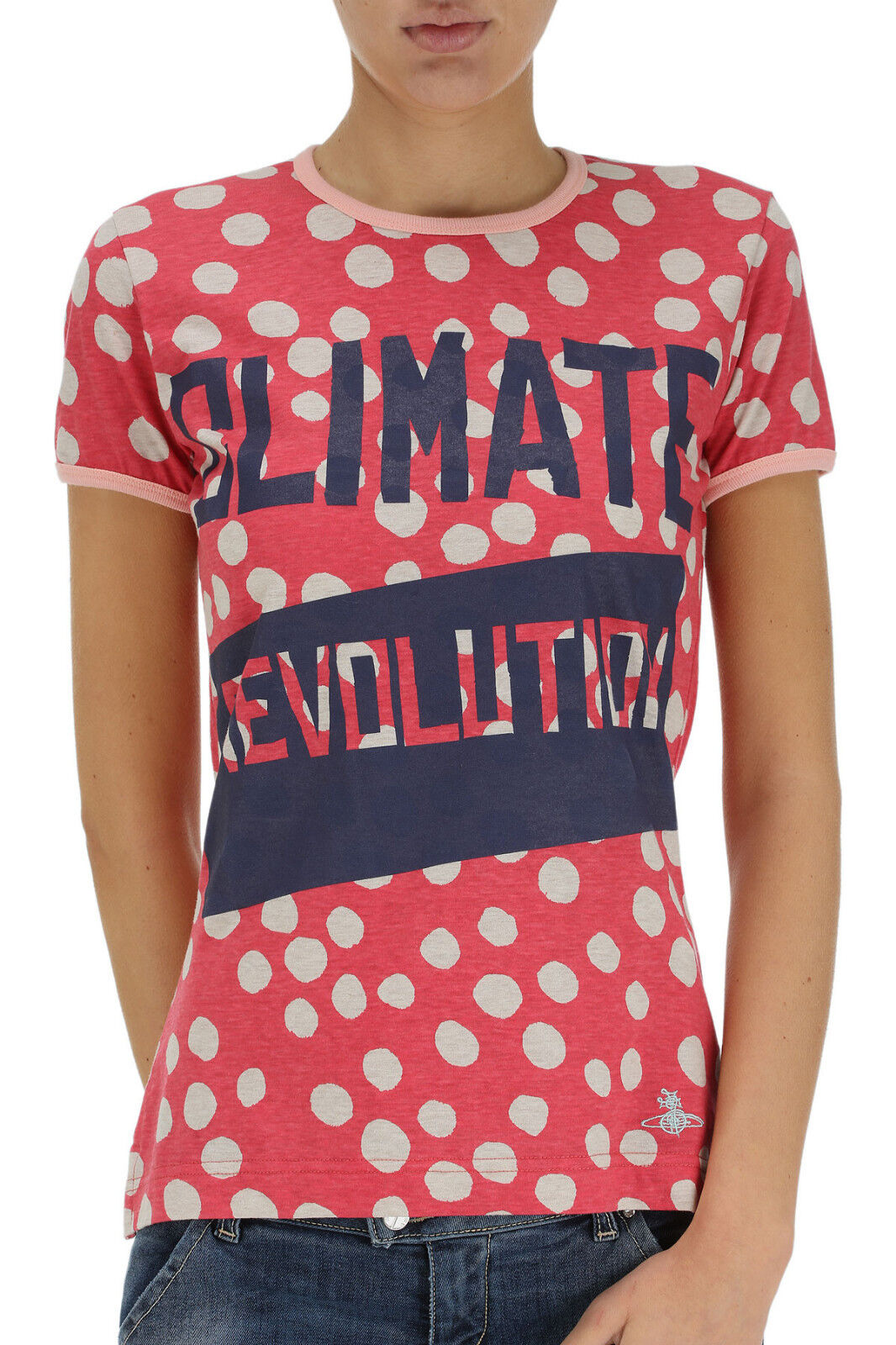 Vivienne Westwood t-shirt climate, Climate tshirt short sleeves Größe S