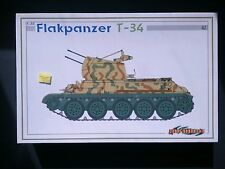 Dragon - Flakpanzer T-34 Smart Kit Model 6569 1:35 NEW Cyber-Hobby