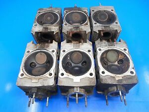 "Details about Porsche 911 964 2/4 3 6L OEM Set of 6 ""Early"" Cylinder Heads  (Good Ceramics!!!)"