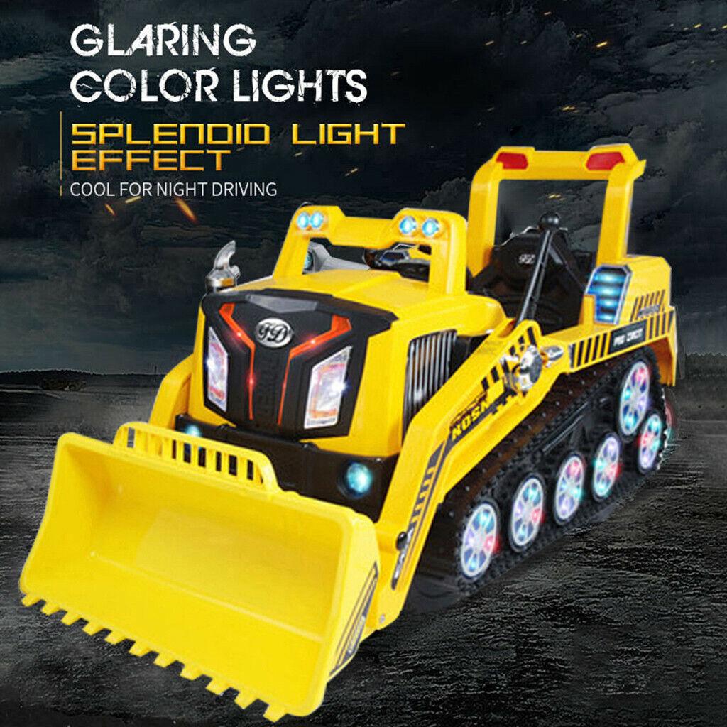玩具RCブルドーザー車RTRの新しいクローラ建設トラックキッズ電気ドライブ
