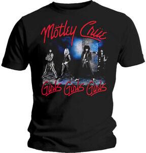 Motley-Crue-039-Girls-Girls-Girls-039-T-Shirt-NEW-amp-OFFICIAL