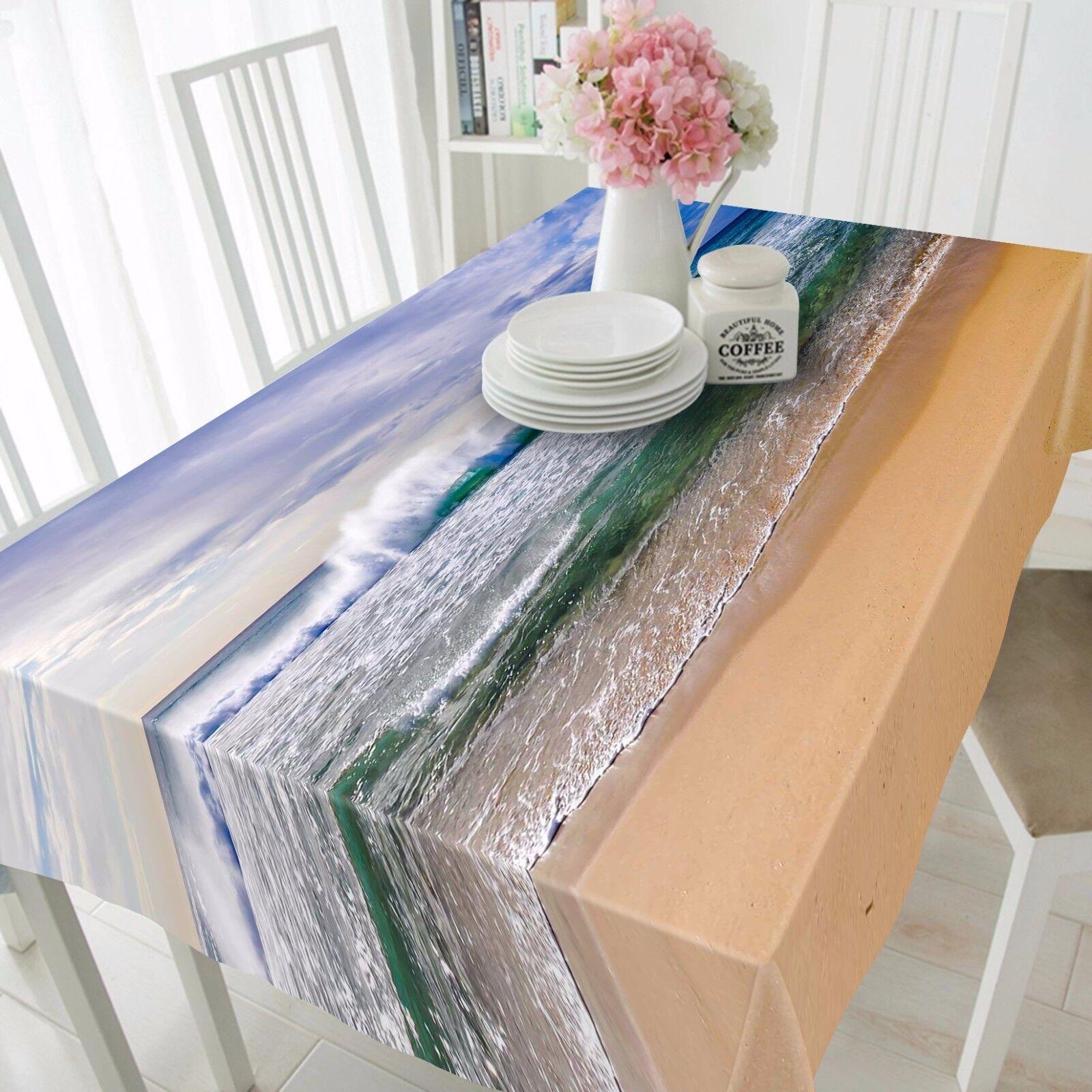 3D Vast Sea Sea Sea 325 Tablecloth Table Cover Cloth Birthday Party Event AJ WALLPAPER cd5cd6