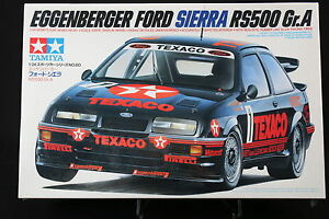 XC028-TAMIYA-1-24-maquette-voiture-24080-1000-Eggenberger-Ford-Sierra-RS500-GR-A