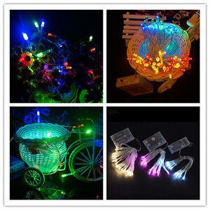 10 20 30 40 50 80 leds weihnachten party batterie led lichterkette kette leuchte ebay. Black Bedroom Furniture Sets. Home Design Ideas
