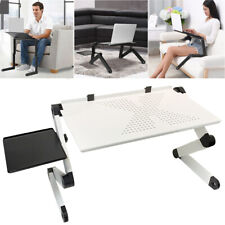 360° Adjustable Laptop Table Stand Foldable Sofa Bed Tray Computer Notebook Desk