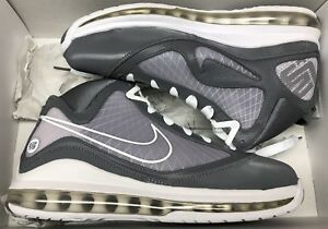 2010 Nike Air Max Lebron VII 7 Cool Grey White 375664-002 Sz 8  8e2346313d