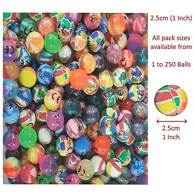 27mm bouncy ball The Toys /& Games Store Party Bag filler Bouncy Balls Pack of 20