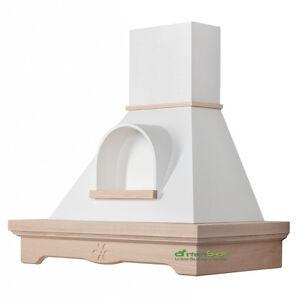 CL90-FFGN cappa cucina MANNY 90 legno classica rustica da verniciare ...