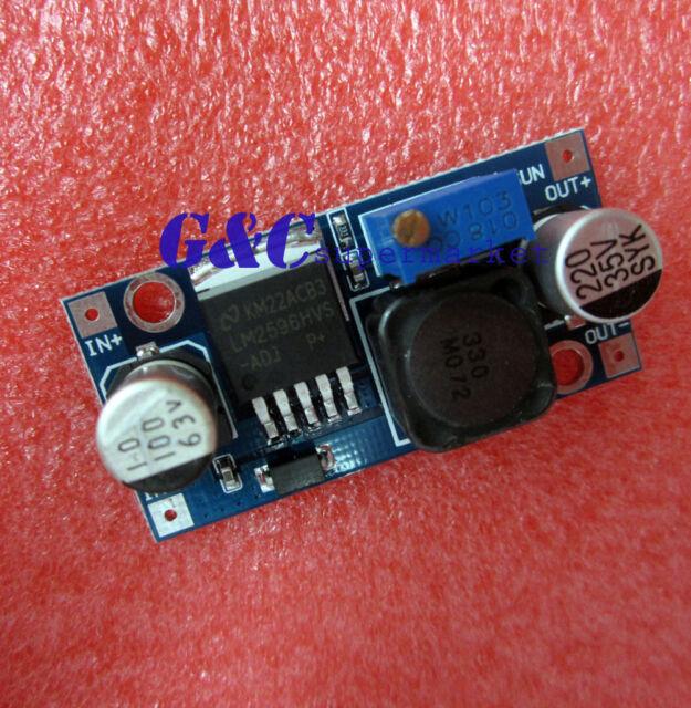 45V Input DC-DC Step Down Converter Adjustable Power Module LM2596HVS M12