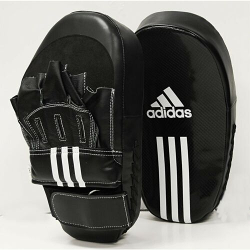 adidas Focus Mitts Boxing Training Long Mitt Taekwondo MMA Karate Punch Kick Pad