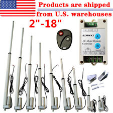 2 18 Inch 220lb330lbs Electric Linear Actuator Heavy Duty 12v Putter Motor Ig