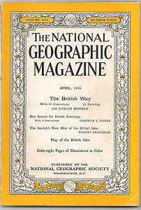national geographicAPR 1949THE BRITISH WAY - slough, Berkshire, United Kingdom - if buyer is not happy he will get full refund including postage. Most purchases from business sellers are protected by the Consumer Contract Regulations 2013 which give you the right to cancel the purchase within 14 day - slough, Berkshire, United Kingdom