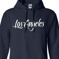 Los Angeles Even Flow Hoodie - Hooded Graffiti L.a. Jumper Sweatshirt All Sizes