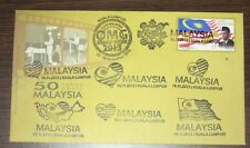 8 cancels Stamp Week 2013 50 Years Malaysia Overprint First Day Cover FDC