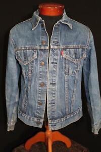 VINTAGE-1980-039-S-LEVI-BLUE-DENIM-JACKET-SIZE-SMALL