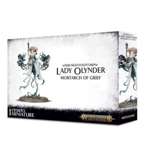 Warhammer Age of Sigmar Nighthaunt Lady Olynder Sealed!