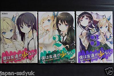 Boku wa Tomodachi ga Sukunai JAPAN manga LOT vol.1~2 Complete Set
