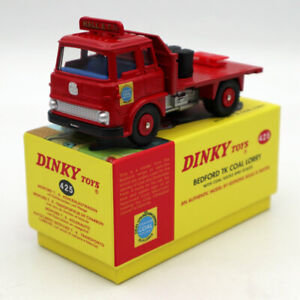 Atlas-Car-Dinky-Toys-425-Beford-TK-Coal-Lorry-With-Coal-Sacks-And-Scales-Diecast