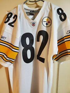 RARE-100-Authentic-Reebok-Antwaan-Randle-El-Pittsburgh-Steelers-Jersey-Away-54