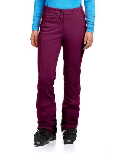Maier Sports Marie Damen Softshell Skihose mykonos dark purple