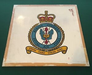 RAF Royal Air Force fighter Command Crest Enamel Lapel Pin Badge