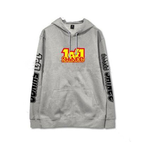 Kpop SHINEE 5th Album 1of1 Cap Hoodie Unisex Pullover Onew Sweatershirt